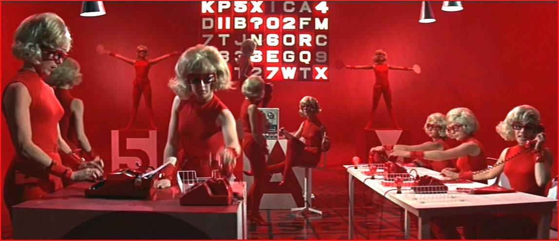 Girls from the decoding room of frau hoffner s spy academy